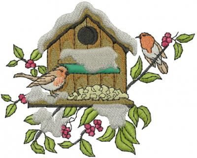 bird machine embroidery designs