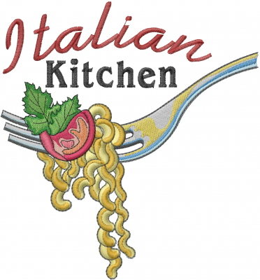 Machine Embroidery Designs Embroidery Design Italian Kitchen Inches H X Inches W