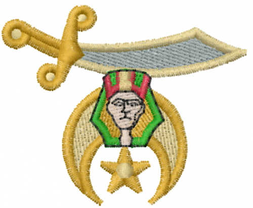 Shriner Embroidery Designs
