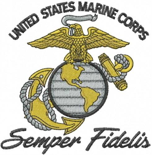 Marine Corps Embroidery Designs