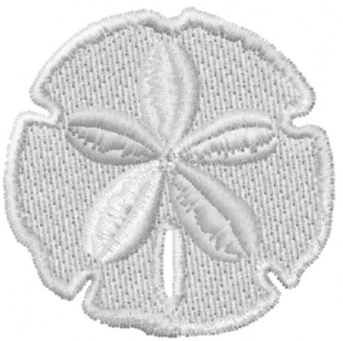 Sand Dollar Machine Embroidery Design