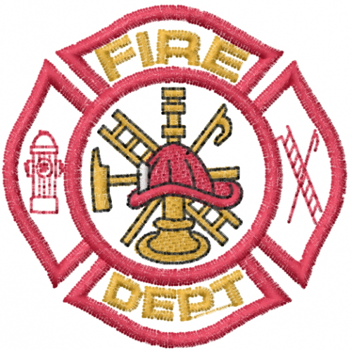 the gallery for gt fire department logo design