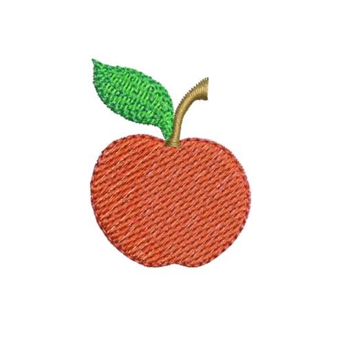 Free Apple Machine Embroidery Design
