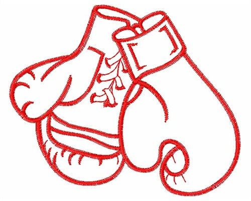 Free Boxing Gloves Embroidery Designs