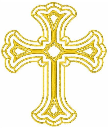 Free Machine Embroidery Christian Cross Designs