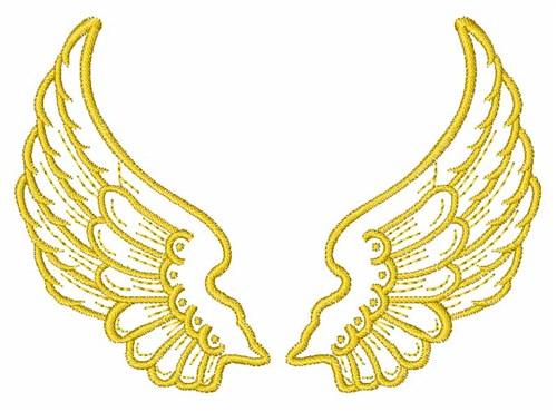 Free Machine Embroidery Angel Designs