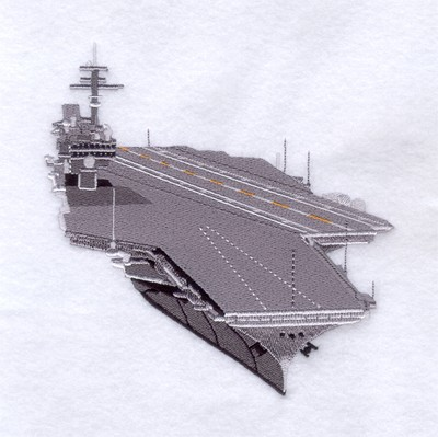 Starbird Inc Embroidery Design Aircraft Carrier Inches H X Inches W