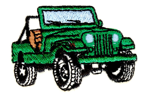 Stitchitize embroidery design jeep inches h
