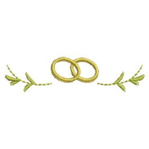 Sweet Heirloom Embroidery Design: Wedding Rings 0.89 ...