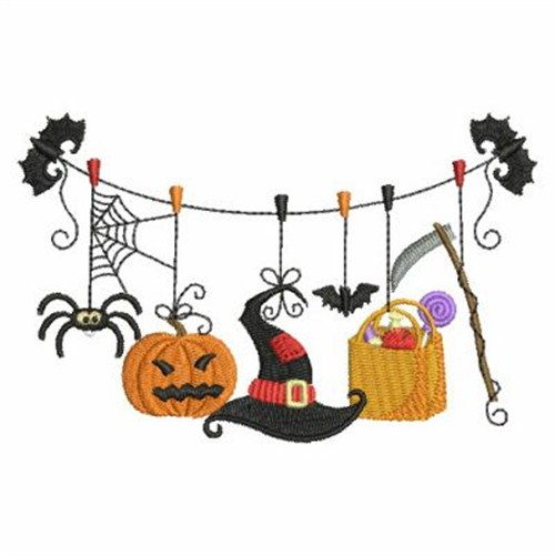 Happy Halloween Embroidery Designs