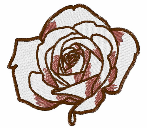 Windmill designs embroidery design rose outline