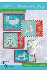 Old World Christmas Mug Rugs Designs CD