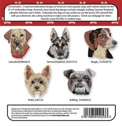Puppy Play Embroidery Designs CD