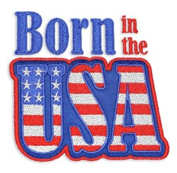 Patriotic Puff Foam Embroidery Designs CD