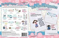 Tea Towel Quotes Designs