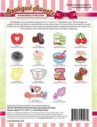 Applique Sweets Designs