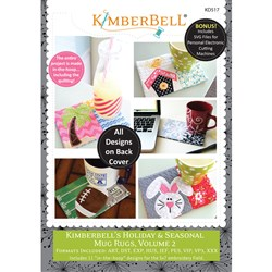 Holiday & Seasonal Mug Rugs Volume 2 Designs CD