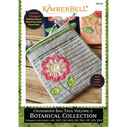 Crossbody Bag Trio, Volume 2: Botanical Collection Designs CD