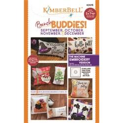 Bench Buddies Sept, Oct, Nov & Dec Designs Machine Embroidery Version