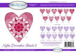 Mylar Decorative Hearts (#2)