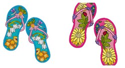 Mylar Flip Flops 2 Designs CD