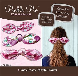 Easy Peasy Ponytail Bows Designs CD