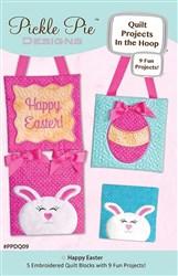 Happy Easter Quilt In The Hoop Designs CD