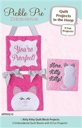 Kitty Kitty Quilt Projects In The Hoop Embroidery Designs CD