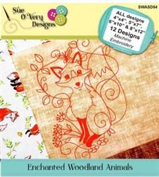 Enchanted Woodland Animals Designs CD