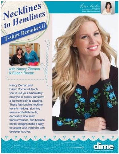Necklines To Hemlines T Shirt Remakes Ii With Nancy Zieman Eileen