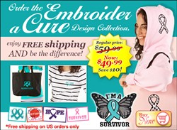Embroider a Cure Design Collection