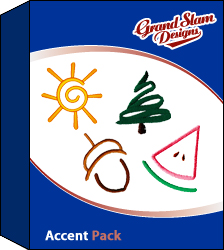Accent Outline Designs Package embroidery design pack