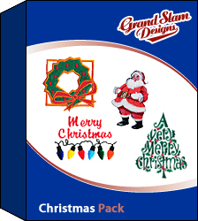 Christmas Deisgns Package embroidery design pack