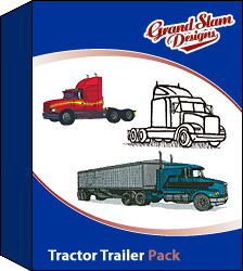 Tractor Trailer Designs Package