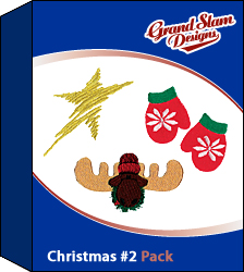 Christmas Designs Package (#2) embroidery design pack