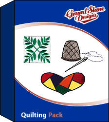 Quilting Designs Package embroidery design pack