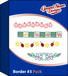 Border Designs Package (#3) embroidery design pack