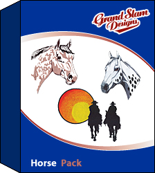 Horse Designs Package