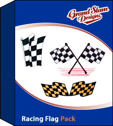 Racing Flag Designs Package