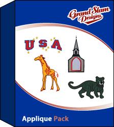 Applique Designs Package