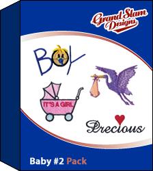 Baby Designs Package 2