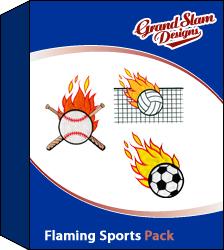 Flaming Sports Design Package