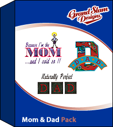 Mom and Dad Designs Package 2