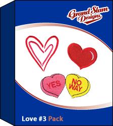 Love Designs Package (#3)