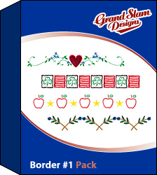 Border Designs Package (#1)