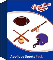 Applique Sports Design Package