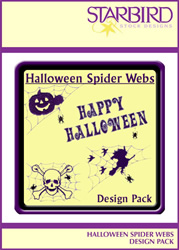 Halloween Spider Webs Design Pack