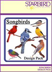 Songbirds Design Pack