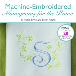 Machine Embroidered Monograms