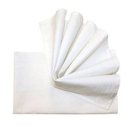 White Flour Sack Dish Towel